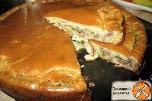 watermarked - Супер нежный пирог с капустой и мясом_1