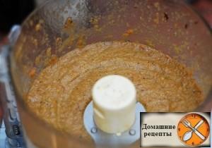 Грибной суп-пюре.