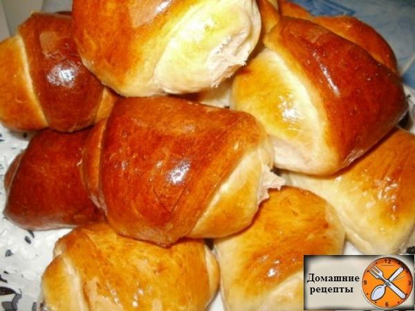 рогалики с карамельками рецепт с фото