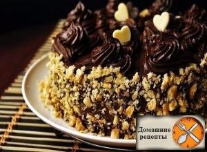 Шоколадный торт по ГОСТу