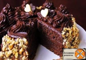 watermarked - resized - Шоколадный-торт-по-госту6
