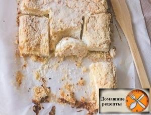 Деревенский творожный пирог