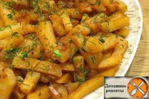 Вкусная картошка в мультиварке