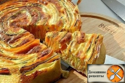 """Пирог """"Овощная идиллия"""""""