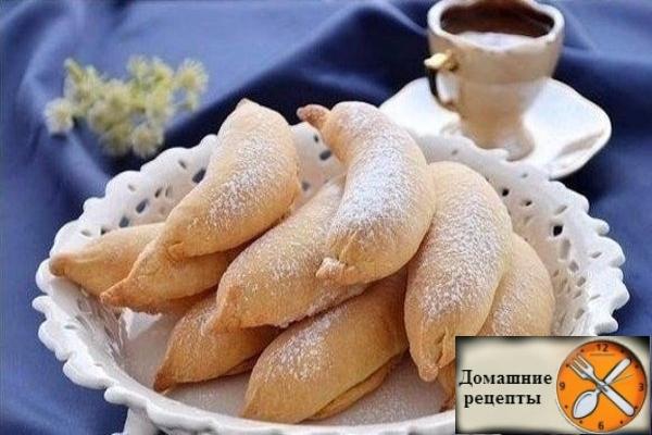 """Печенье """"Бананы"""" с творогом"""
