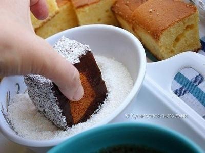 Нежное пирожное, тающее во рту