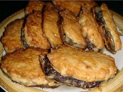 """""""Сеньор баклажан"""" или жареные баклажаны под мясом"""