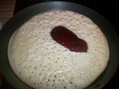 Необычные блинно-пирожки с начинкой