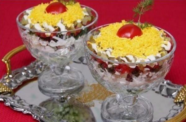 3 вкусных салата к любому столу