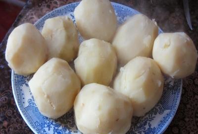 Картошка фаршированная фаршем в духовке