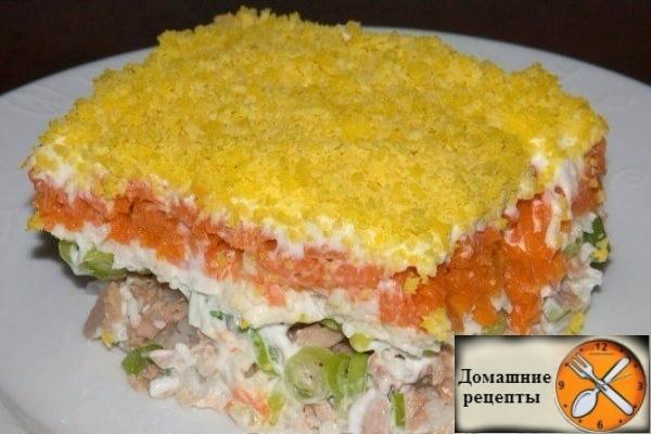 Рецепт салата «Мимоза»