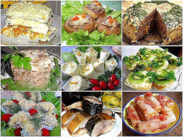 9 закусок дом рецепты