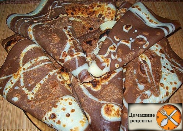 Шоколадные блинчики Дом рецепты