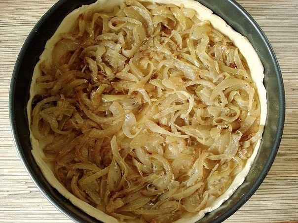 Луковый пирог 3