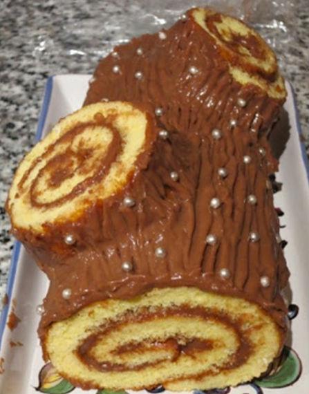 """Торт """"Шоколадное полено"""" 9"""