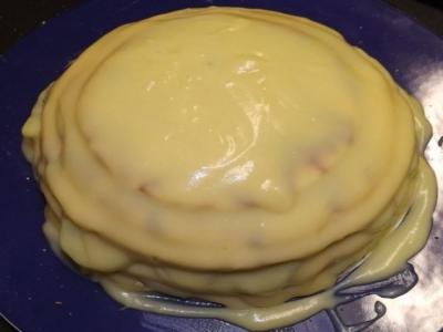 "Торт ""Изумрудная черепаха"" 9"