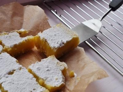 Лимонные пирожные (Lemon bars) 10
