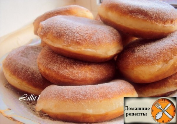 """Пончики с шоколадным кремом """"Восторг"""""""