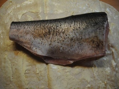 Рыба, запеченная в лаваше 2