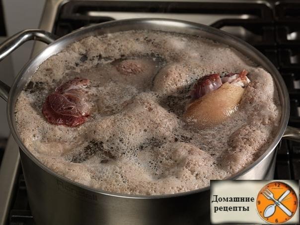 Будьте бдительны! Если при варке супа, образуется большое количество пены — это значит …