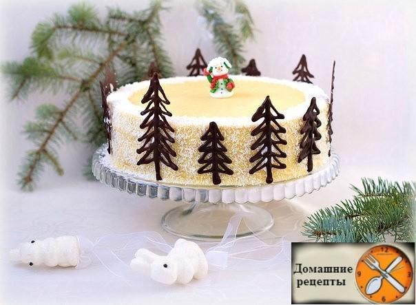 """Торт """"Нежный Наполеон"""""""
