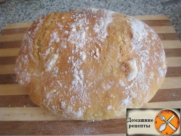 Рецепт вкусного домашнего хлеба в духовке