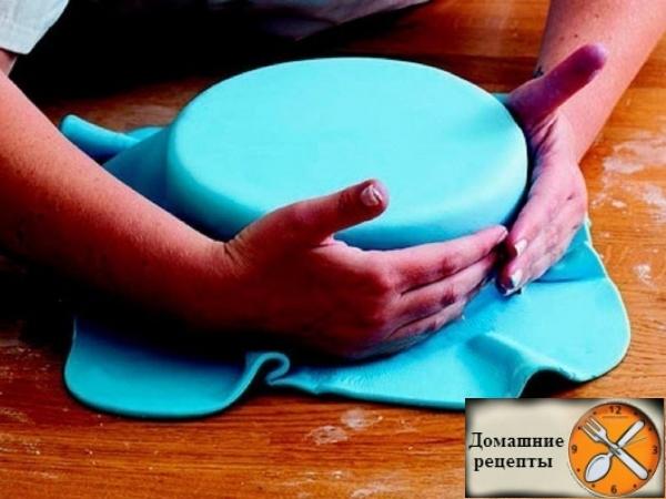 Как сделать мастику для торта своими руками, в домашних условиях