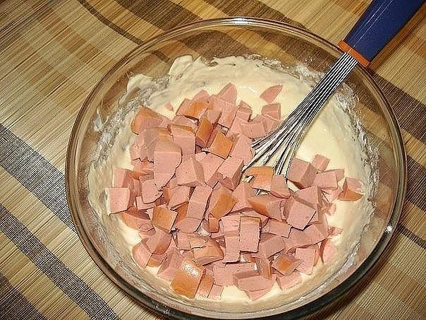 Мясной кекс 1