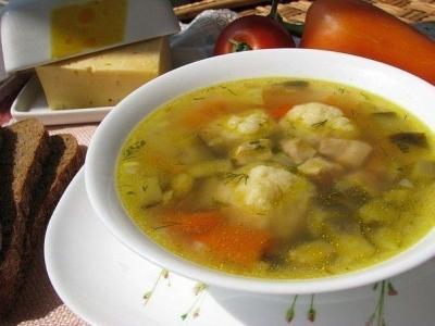 Сырные шарики. Быстрый болгарский суп. 9