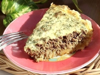 Пирог с печенью - непередаваемая вкуснятина! 8