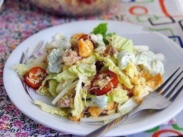 ТОП-6 салатов с пекинской капустой 1
