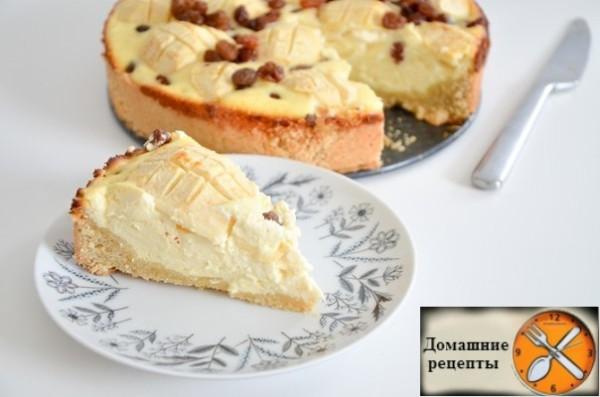 Немецкий творожный пирог