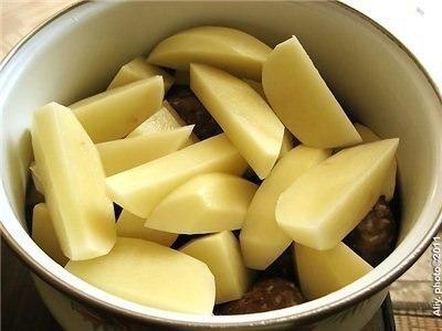 Тефтели с картошкой 3
