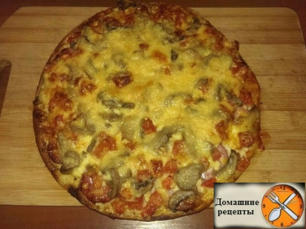 пицца. дом рецепты