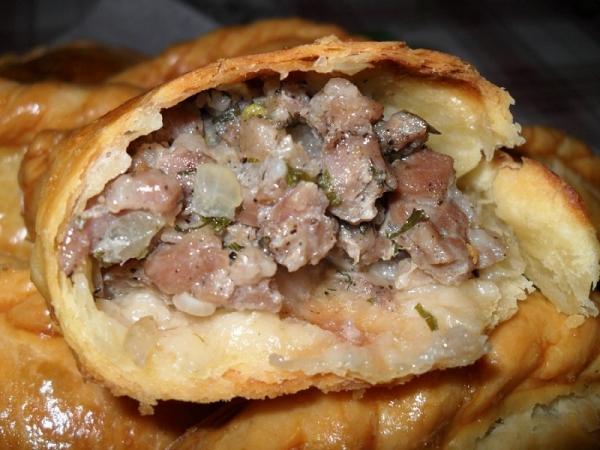Караимские пирожки с мясом