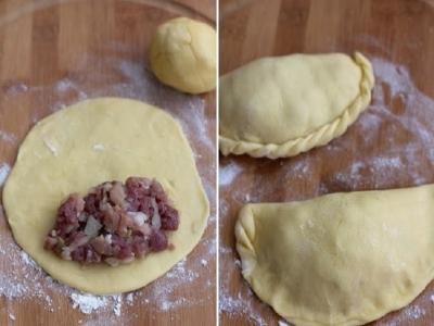 Караимские пирожки с мясом 2