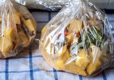 Запеченная картошечка с грибами и сметаной 4