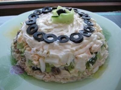 Очень вкусный салат 3