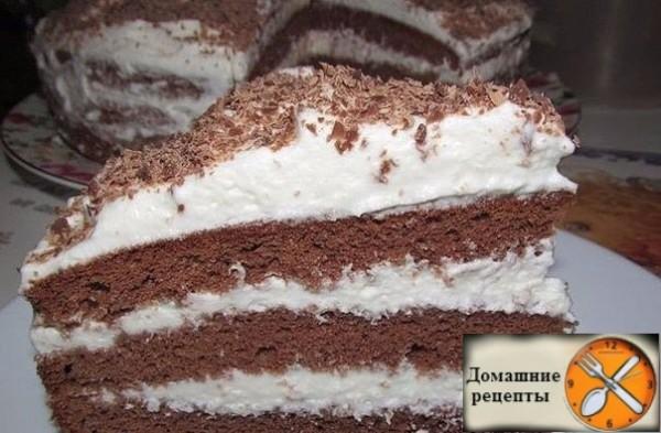 торт пятиминутка дом рецепты
