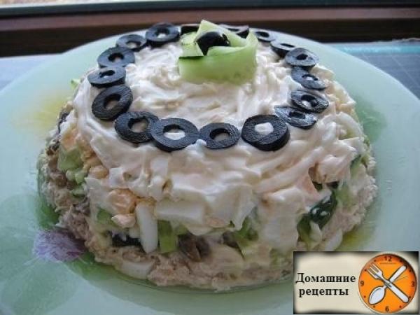 Очень вкусный салат