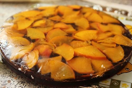 Персиково-смородиновый торт 2
