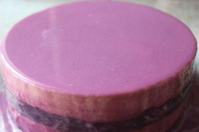 Персиково-смородиновый торт 7