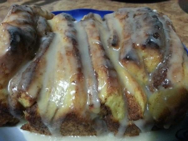 Отрывной тыквенный пирог 1