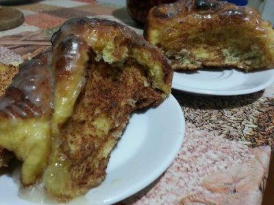 Отрывной тыквенный пирог 2