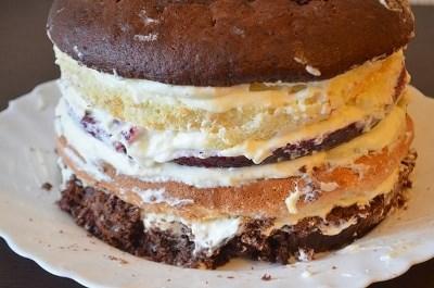 """Многослойный торт """"Мишель"""" 10"""