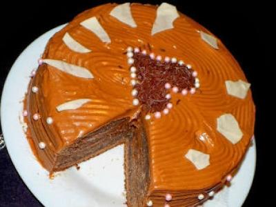 Торт Шоколадное кухэ. дом рецепты