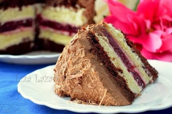 """Многослойный торт """"Мишель"""" 1"""