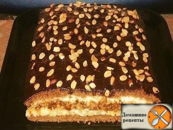 торт Домашний. дом. рецепты