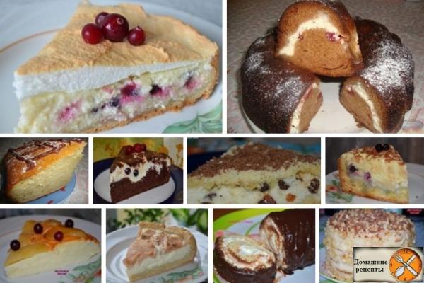 Рецепты пирогов дома с