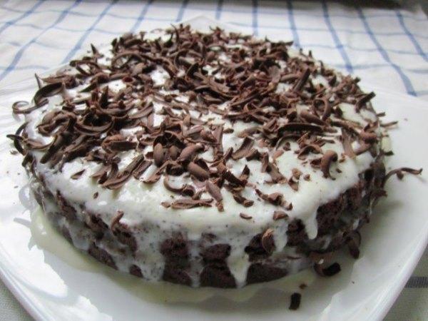 """Шоколадный торт """"Обыкновенное чудо"""" 1"""